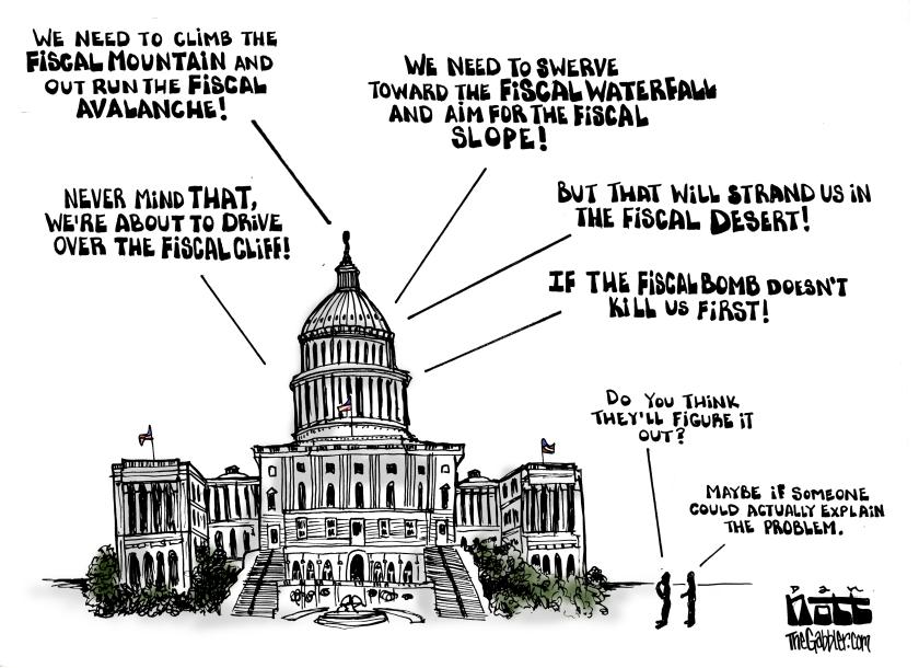 Fiscal Metaphors