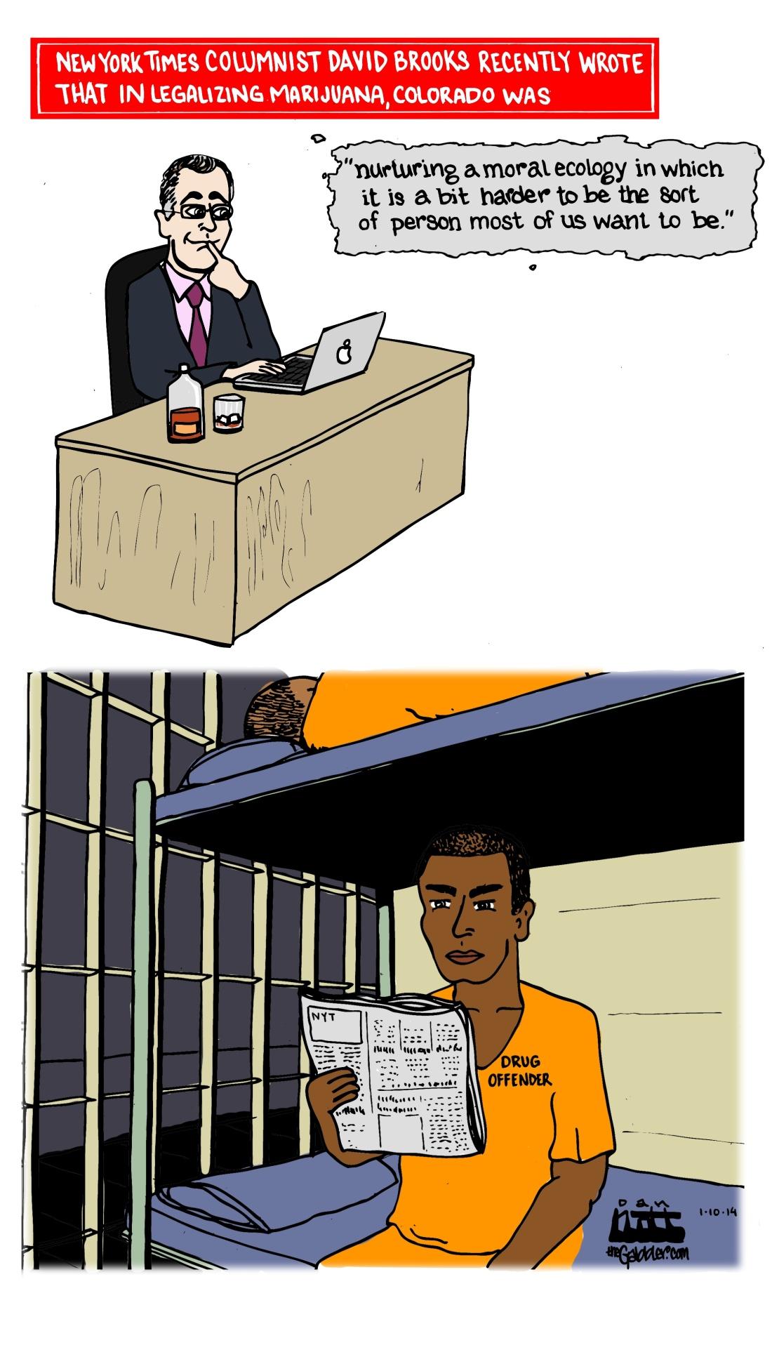 David Brooks Weed Prison