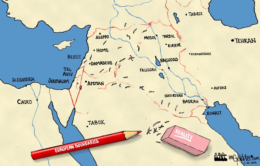 Middle East Borders