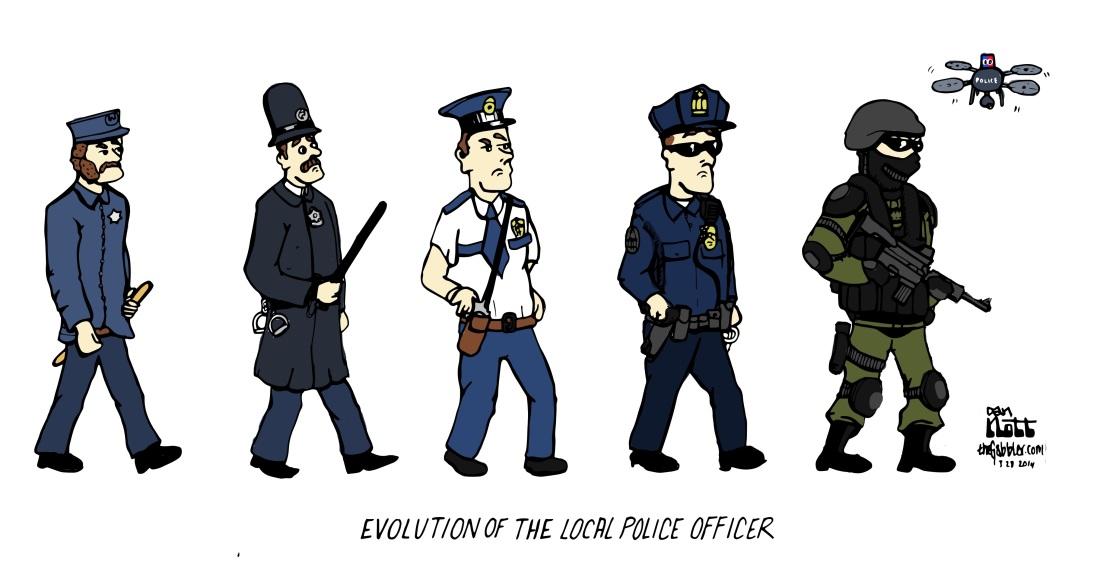Police Soldier Militarization
