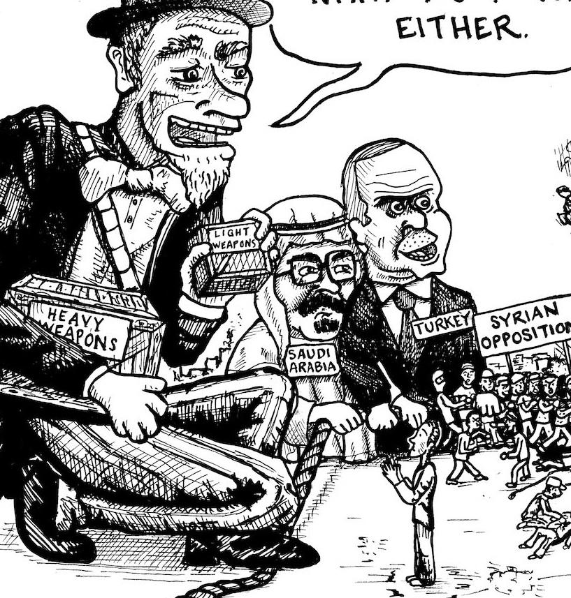 intervention in syria essay