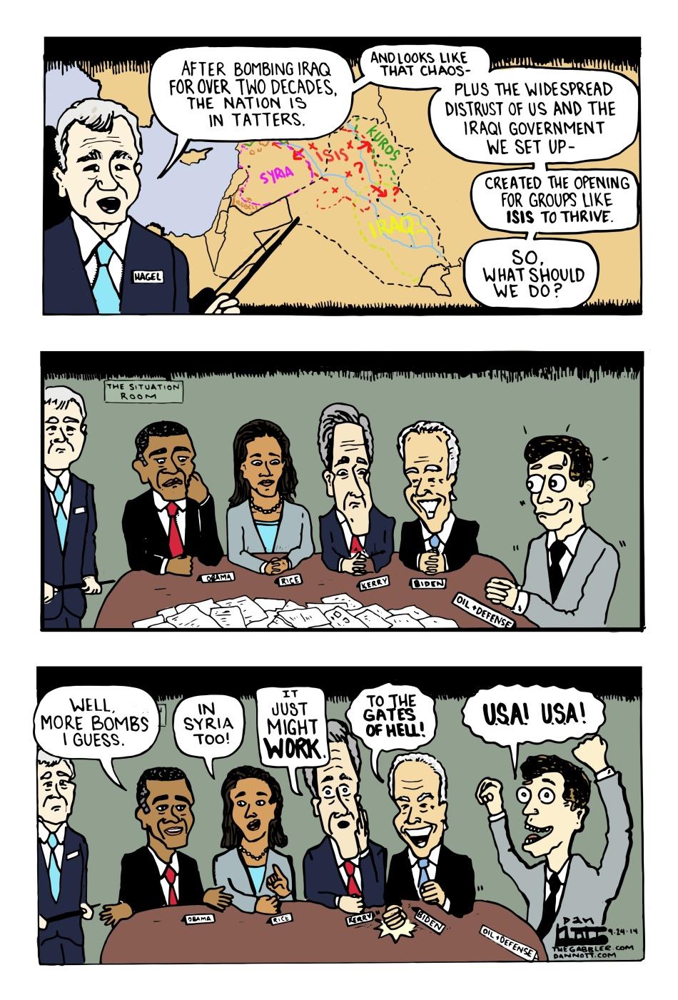 Obama's Plan to Fix Iraq