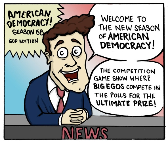 American Democracy Reality Show P1