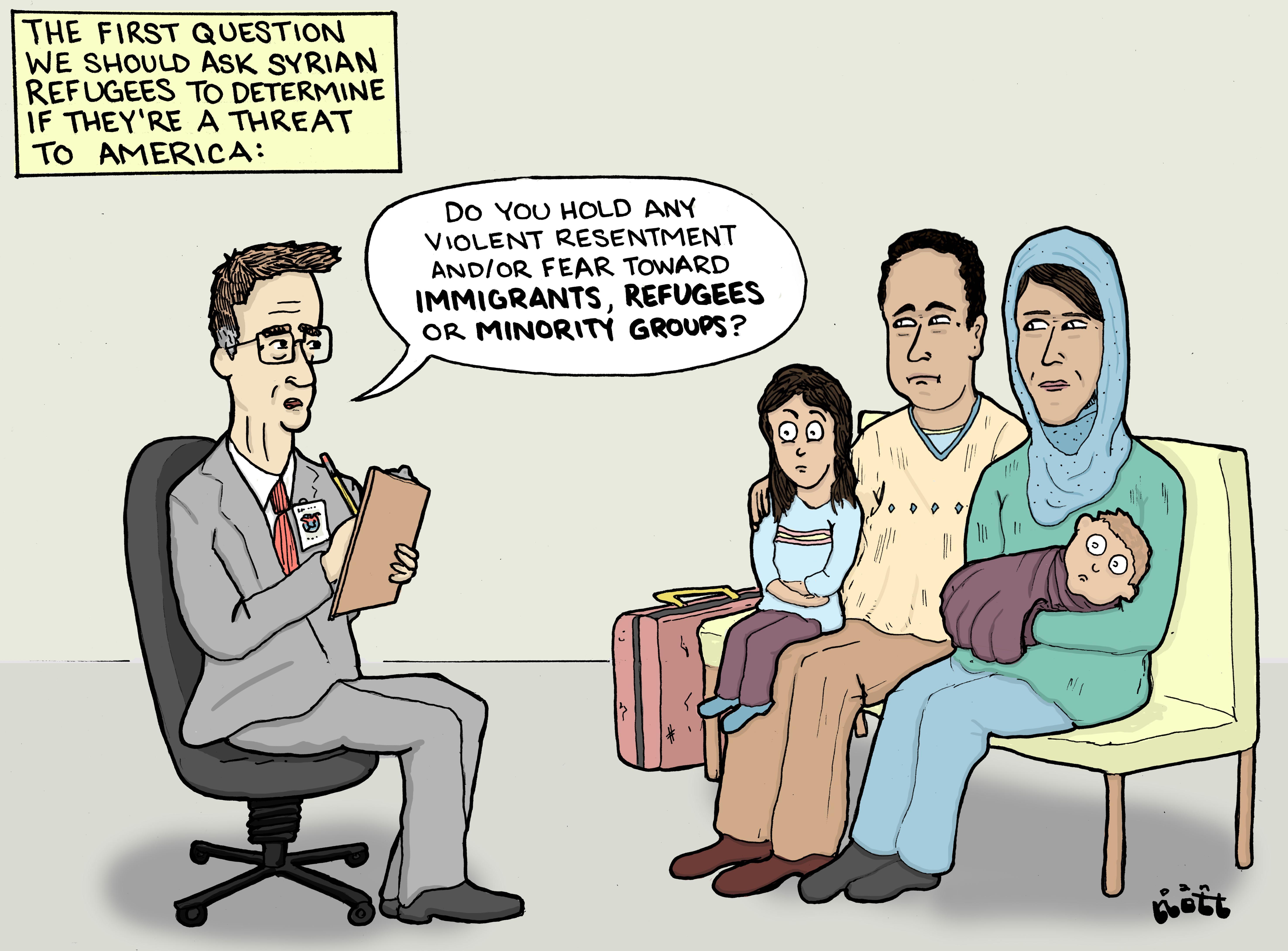 Vetting Syrian Refugees