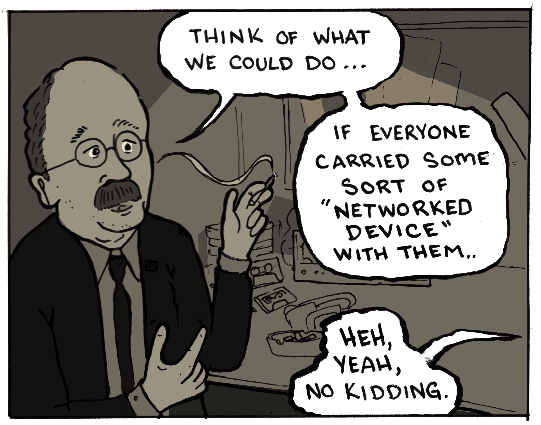 Spy Dreams panel 3