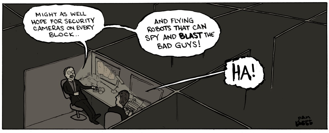 Spy Dreams panel 6